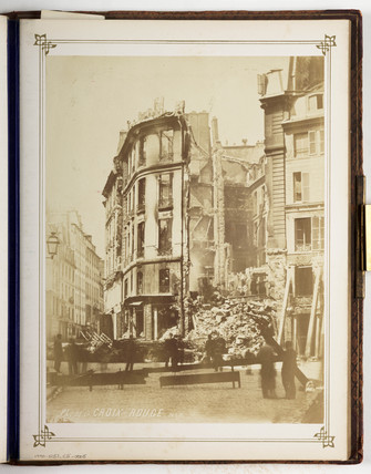 Place de la Croix Rouge, Paris, c 1870s.