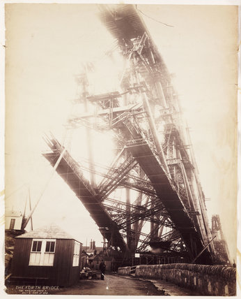 'The Forth Bridge. Fife Main Pier from N.', 1888