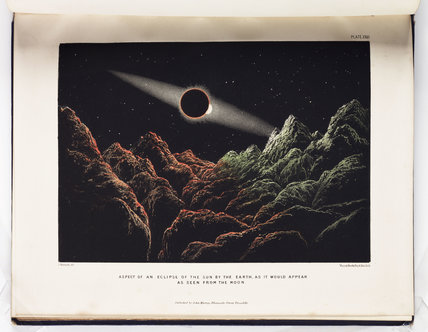 'Aspect of an Eclipse of the Sun by the Earth...', about 1870