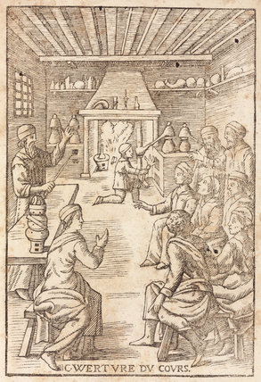 Course lecture in chemistry, 1657.