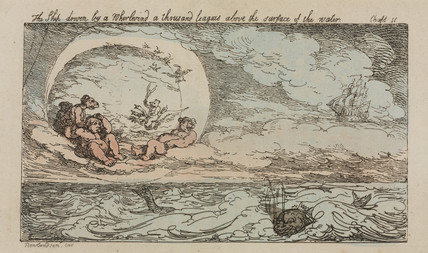 'The Ship driven by a Whirlwind...', 1811.