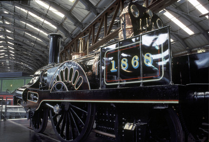 Grand Junction Railway Locomotive 'Columbine', 1845.