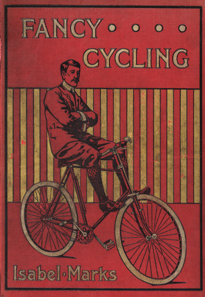 Cover of a book on cycling, 1901.