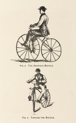 'The American Bicycle', 1869.