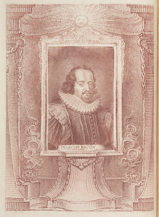 Francis Bacon, English esayist and philosopher, early 17th century.