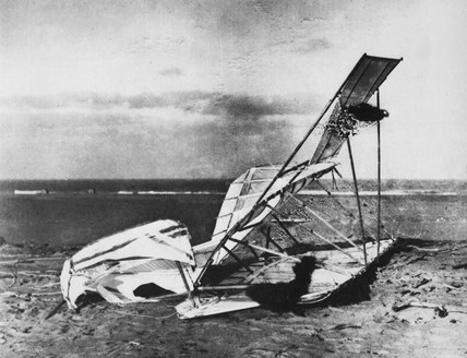 Wright Brothers 1900 glider.