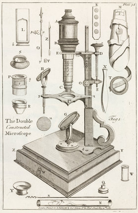'The Double Constructed Microscope', 1787.