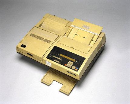 Panasonic 'UF 800' fax machine, 1985.