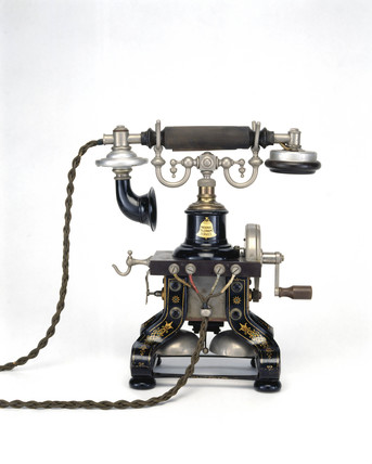 Ericson table telephone, 1890.
