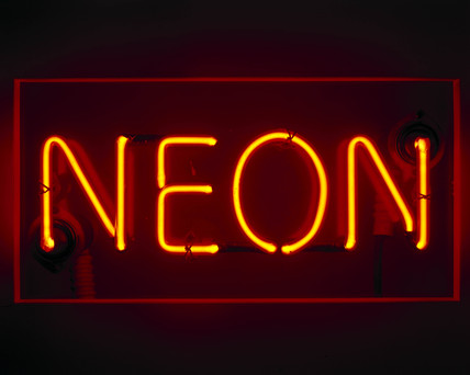 Neon Sign 1930s At Science And Society Picture Library