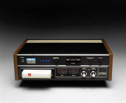 Akai 8-track stereo cartridge tape recorder, 1975.