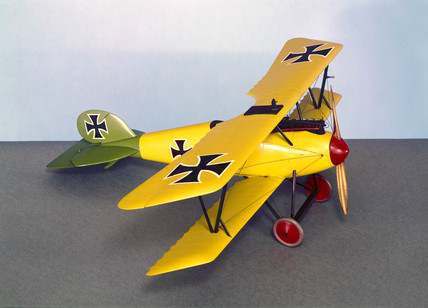 German Albatros DV single seater fighter, 1917.