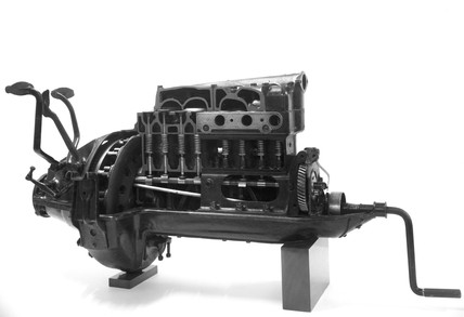 Ford Model T motor car engine, 1920.