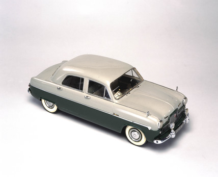 Ford Zephyr Mk I saloon car, 1951.