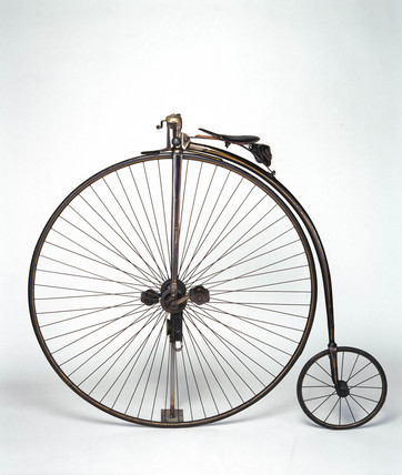 The 'Windsor' ordinary bicycle, c 1878.