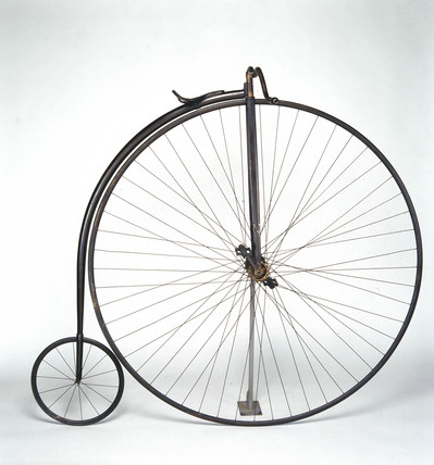 Rudge 'ordinary' bicycle, 1884.