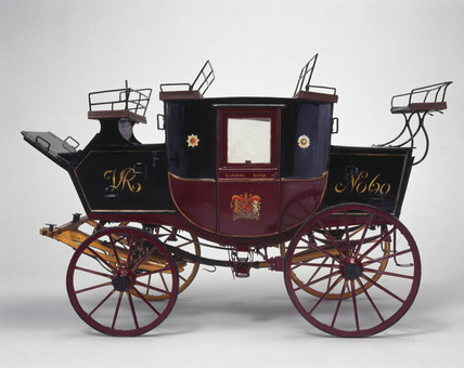 Royal Mail coach, c 1840.