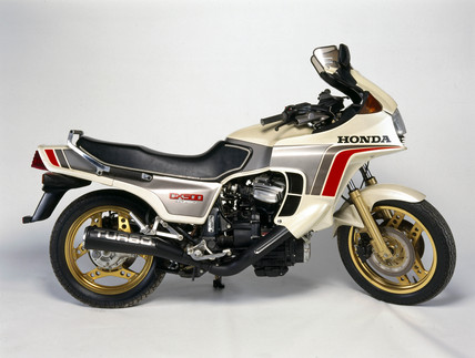 Honda CX500 Turbo Motorcycle, 1982.