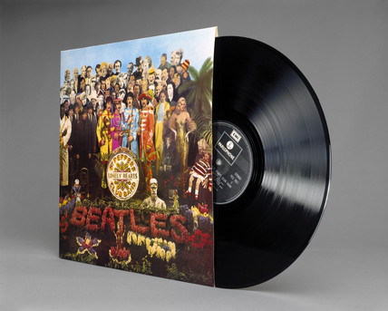 'Sgt Peppers Lonely Hearts Club Band', vinyl LP record by The Beatles, 1967.