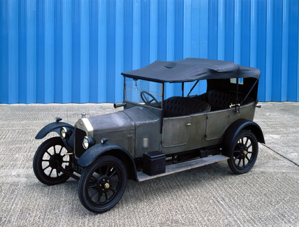 Wolseley 10.5 hp four-cylinder motor car, 1924.
