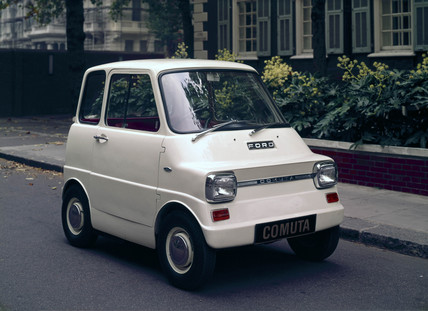 Ford Comuta electric car, 1967.