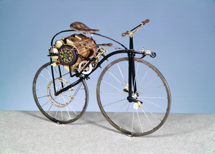 Michaux-Perreaux steam motor bicycle, 1868.