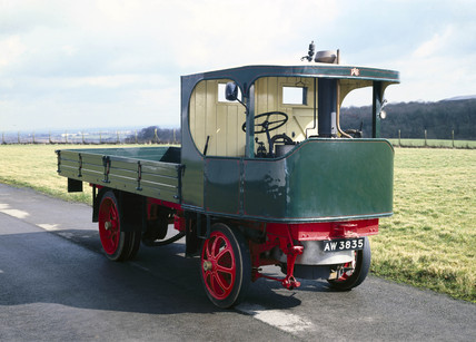 Sentinel Standard steam wagon, 1917.
