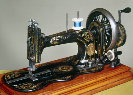 Singer 'New Family' sewing machine, 1865-1883.