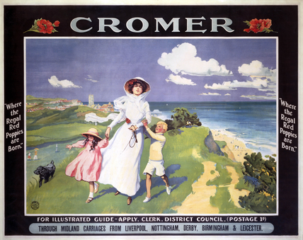 'Cromer', MR/Cromer District Council poster, 1900.