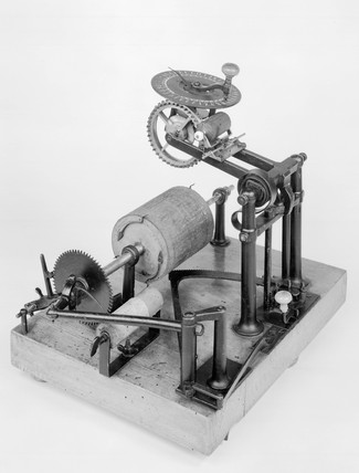 Hood typewriter, c1857 Produced in 1857