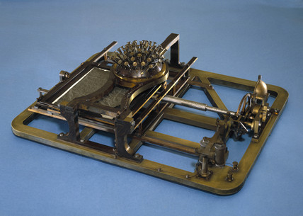 Hansen's writing ball, c 1880.