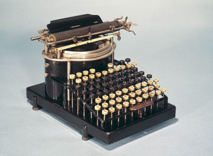 Yost No 1 typewriter, 1889.