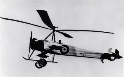 Cierva 'C30A' Autogyro in flight, c 1930s.