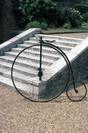 Baylis-Thomas 'ordinary' bicycle, 1879.