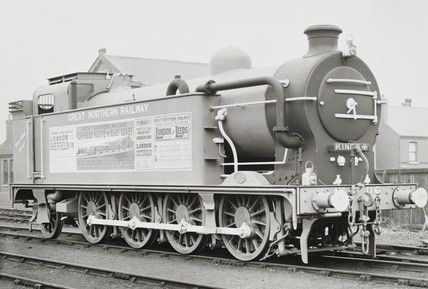 Tank engine at Doncaster works, 1903.