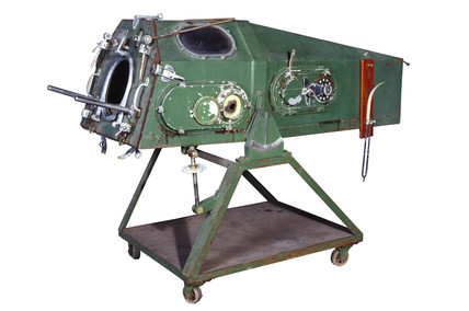 An Iron Lung made in the 1950s.
