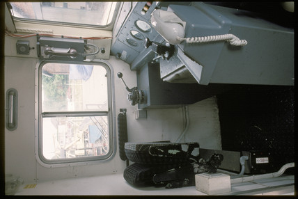Locomotive controls, 1994.