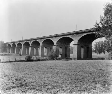 The Wharncliffe Viaduct c.1934