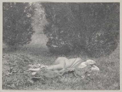 'Nymph Asleep', 1897.