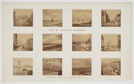 'Instantaneous Views', 1856-1865.