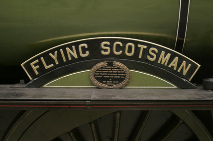 LNER steam locomotive 4-6-2 No 4472 'Flying Scotsman', 5 August 2004.