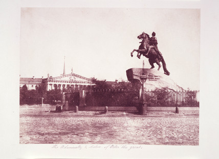 'The Admiralty and Statue of Peter the Great', 1852.