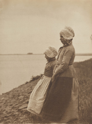'On the Shore of the Zuider Zee', 1904.