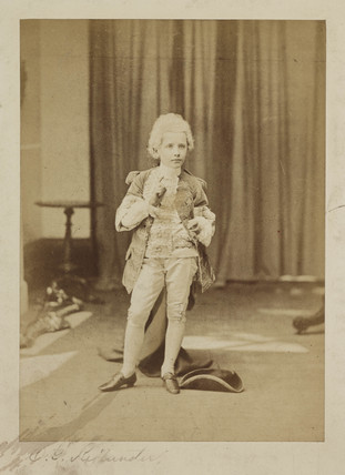 Fancy Dress', c 1860s.