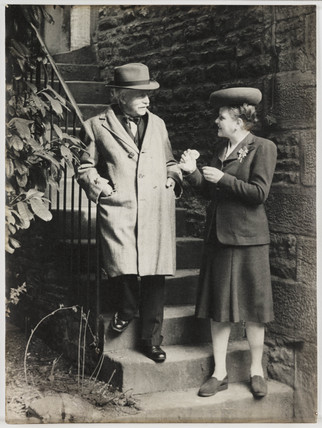 Alexander Keighley and Rosalind Maingot, 1945.