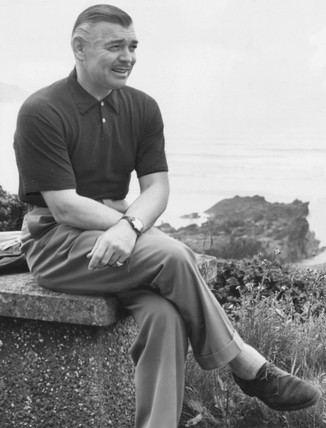 Clark Gable June 1952 At Science And Society Picture Library