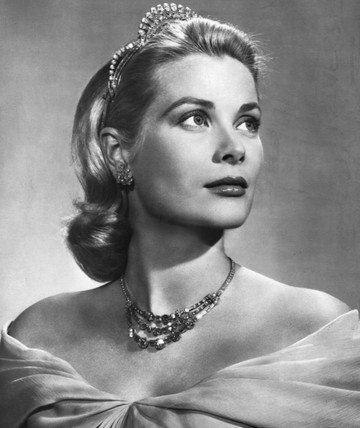 Grace Kelly, American film star, c 1956.