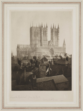 Lincoln Cathedral from the Castle, 1898.
