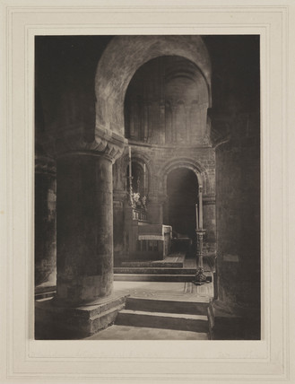 St. Bartholomew the Great, Ailse to Alter, 1917.