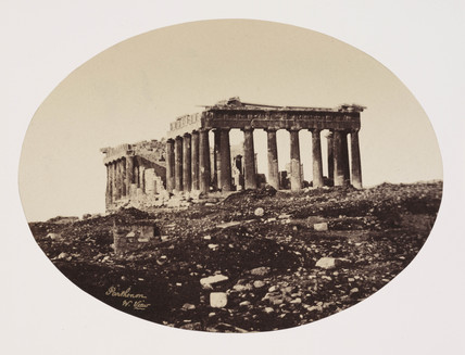 The Parthenon, Athens, c 1849.